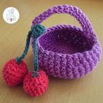Mi pequeña cesta de fruta Amigurumi