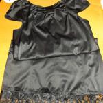 Hacer más largo un vestido o falda